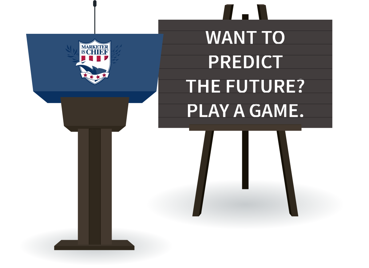 Thomas Jefferson - Want to predict the future? Play a game.