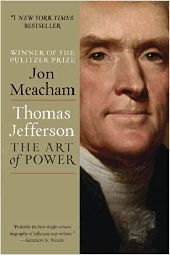 Thomas Jefferson- The Art of Power